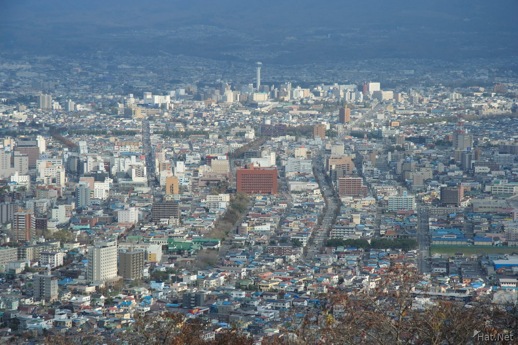 city of hakodate from ntt view point