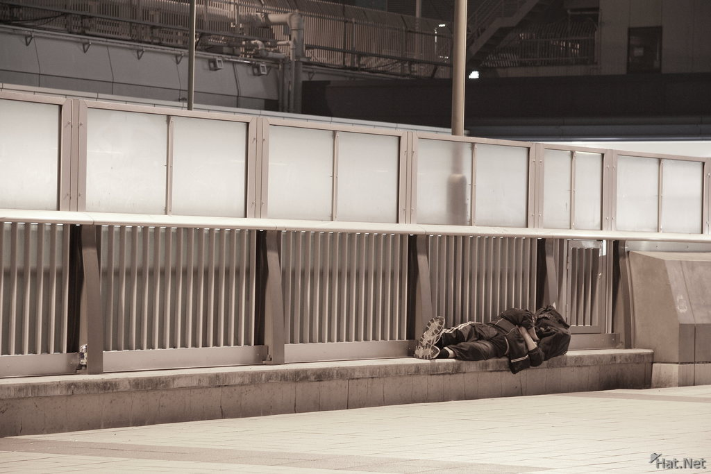 homeless near ueno park