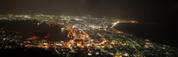 panorama of hakodate night