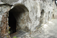 military caves on hakodate mountain