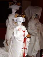 graceful japanese bride dolls