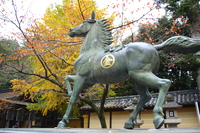 kompira shrine donation horse