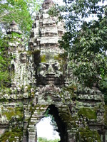 north gate of angkor thom Siem Reap, South East Asia, Cambodia, Asia