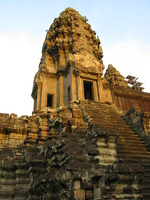 angkor tower Phnom Penh, Siem Reap, South East Asia, Cambodia, Asia