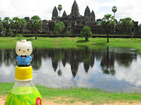 view--hello angkor Siem reap, South East Asia, Cambodia, Asia