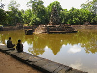 neak pean Siem Reap, South East Asia, Cambodia, Asia