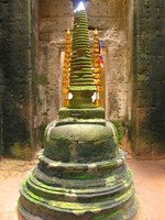 center stupa in preah khan Siem Reap, South East Asia, Cambodia, Asia