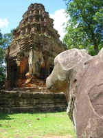 nandi of preah ko Phnom Penh, Siem Reap, South East Asia, Cambodia, Asia