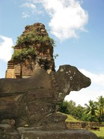 nandi of bakong Phnom Penh, Siem Reap, South East Asia, Cambodia, Asia