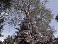 ta som west gopura Siem Reap, South East Asia, Cambodia, Asia