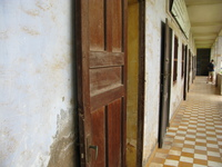 first floor of tuol sleng Phnom Penh, South East Asia, Vietnam, Asia