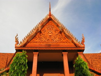 roof of phnom penh national museum Saigon, Phnom Penh, South East Asia, Vietnam, Cambodia, Asia