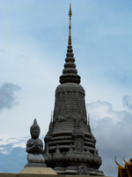 king ang duong stupa Phnom Penh, South East Asia, Vietnam, Asia