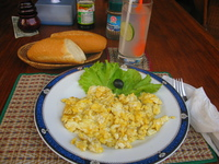 food--cambodian breakfast at indochine 2 Phnom Penh, Siem Reap, South East Asia, Cambodia, Asia