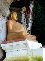 big tummy buddha Pakbeng, Luang Prabang, South East Asia, Laos, Asia