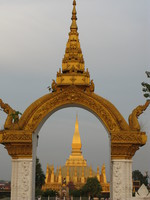 national symbol of laos Vientiane, South East Asia, Laos, Asia