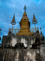 phousi temple Luang Prabang, South East Asia, Laos, Asia