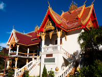 abbot house Luang Prabang, Vientiane, South East Asia, Laos, Asia