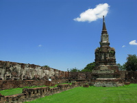 stupa of wat maha that Ayutthaya, Central Thailand, Thailand, Asia