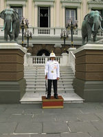 thai royal guard Bangkok, South East Asia, Thailand, Asia