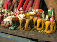 elephant figurines Bangkok, South East Asia, Thailand, Asia