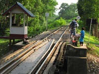 death railway Kanchanaburi, South East Asia, Thailand, Asia