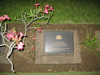 grave of sweatman Kanchanaburi, South East Asia, Thailand, Asia