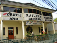 death railway museum Kanchanaburi, South East Asia, Thailand, Asia