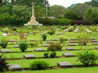 war memorial cemetry Kanchanaburi, South East Asia, Thailand, Asia