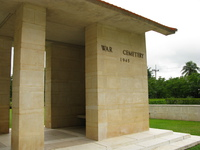 war cemetery Kanchanaburi, South East Asia, Thailand, Asia