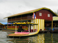 kwai floating house Kanchanaburi, South East Asia, Thailand, Asia