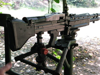m16 machine gun Saigon, South East Asia, Vietnam, Asia