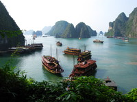 view--unesco world heritage site - ha long bay Ninh Binh, Halong Bay, Quang Ninh province, Vietnam, Asia