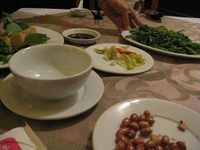 food--dinner at com viet Halong Bay City, Ha Noi, South East Asia, Vietnam, Asia