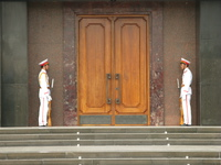 vietnamese royal guards Hanoi, South East Asia, Vietnam, Asia