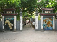 dragon and tiger gate Halong Bay City, Ha Noi, South East Asia, Vietnam, Asia
