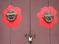 view--laughing guards Hoi An, My Son, South East Asia, Vietnam, Asia