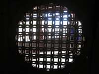 round window Hoi An, My Son, South East Asia, Vietnam, Asia