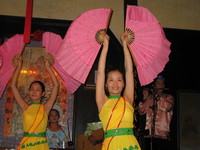 chinese dancers Hoi An, South East Asia, Vietnam, Asia