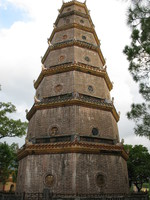 heavenly mother pagoda Hue, South East Asia, Vietnam, Asia