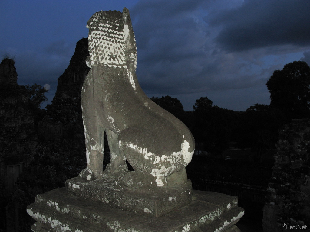 stone lion of pre rup