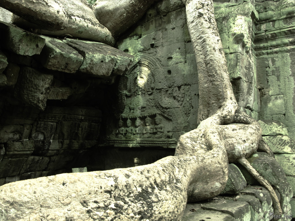 exit of ta prohm