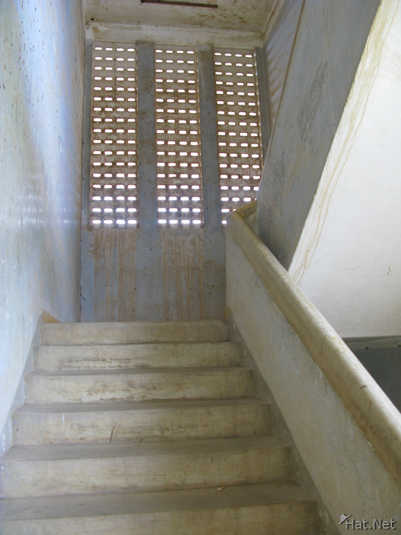 stairway to third floor
