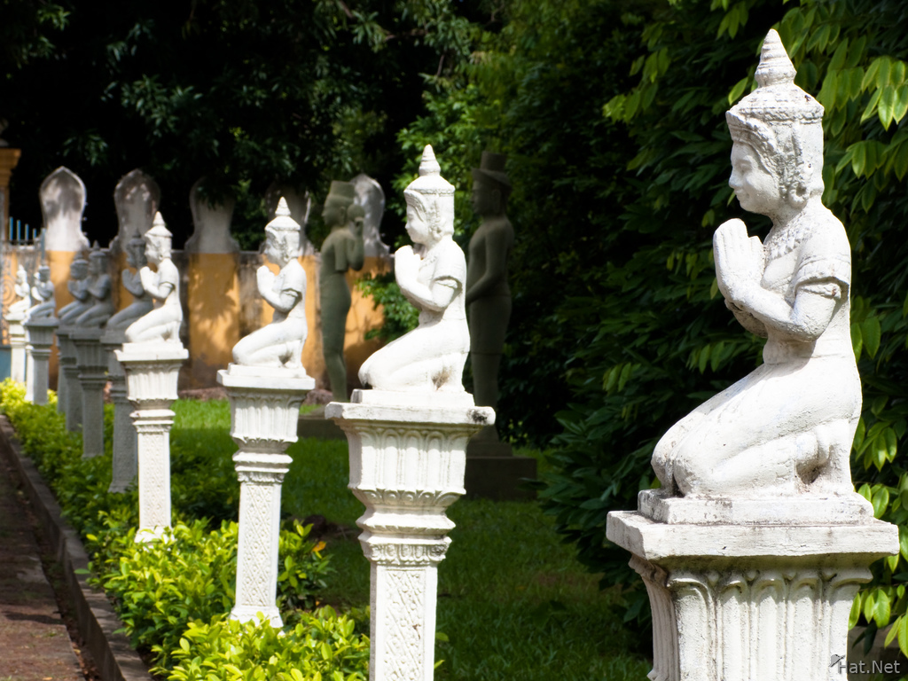 view--buddhist statues