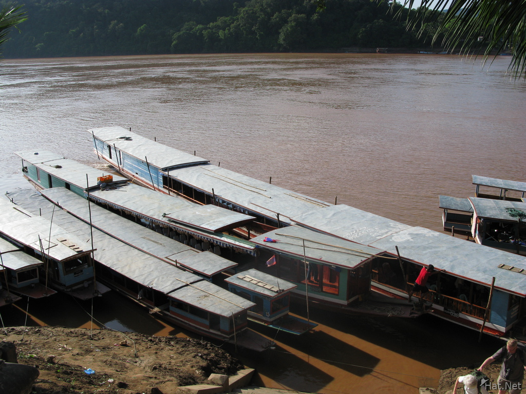 slow boats of laos