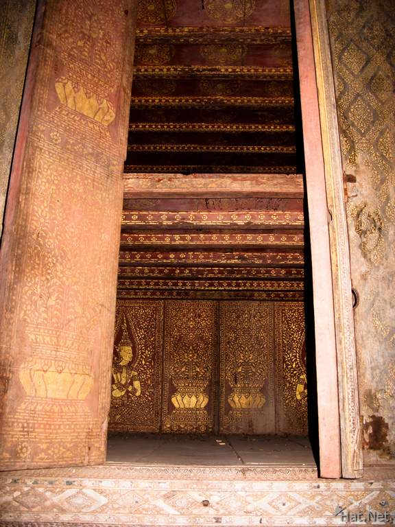 gold leafed temple