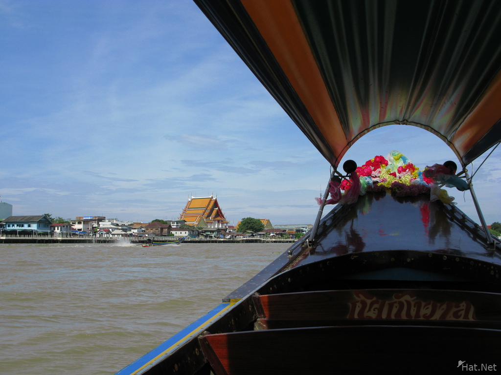 thai canal boat