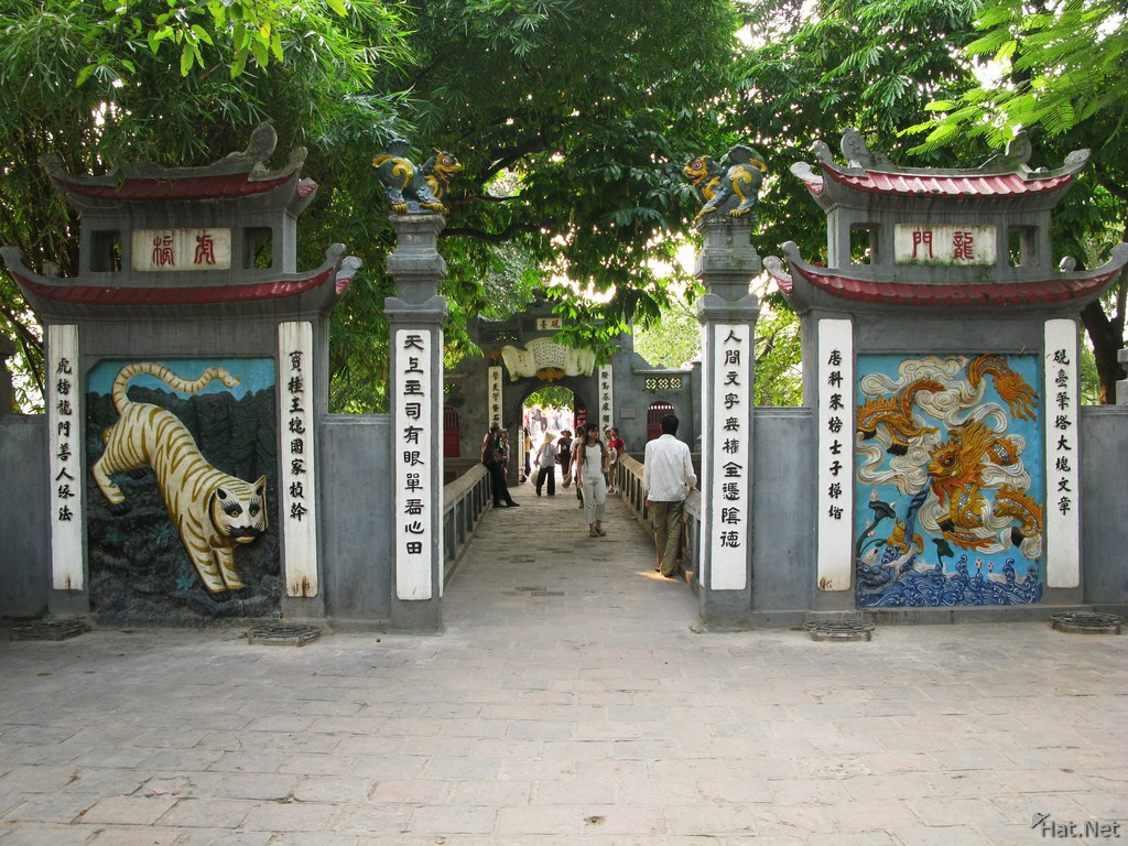 dragon and tiger gate