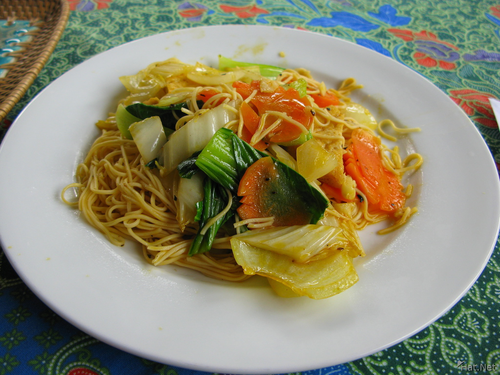 food--fry noodles