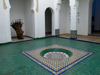 view--yamou in the courtyard Marrakech, Interior, Morocco, Africa